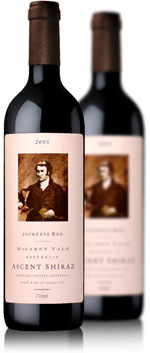Journeys End Vineyards Ascent Shiraz
